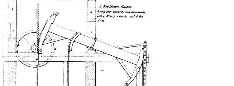 Detail from patent document GB178201321 for James Watt, 1784
