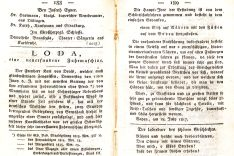 The Badische Wochenblatt reports on 29 July 1817 about Drais' first journeys with the running machin